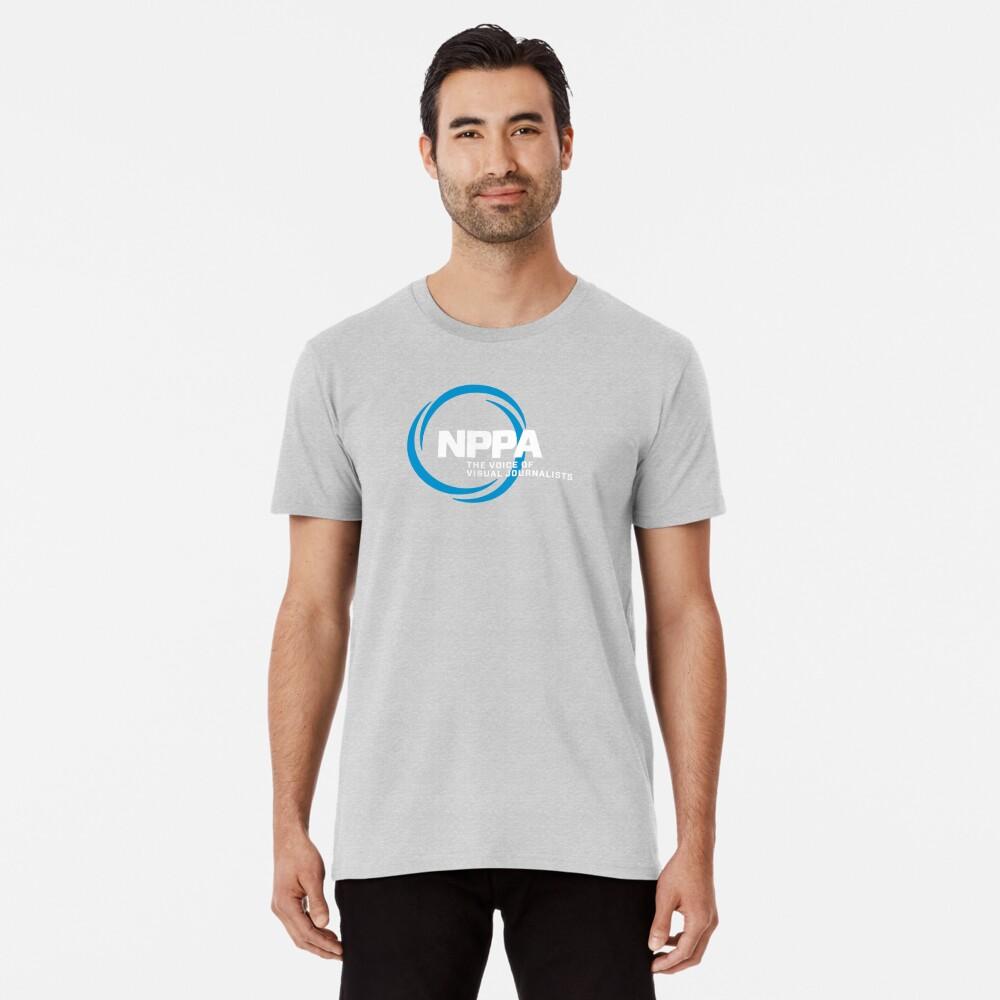 NEW NPPA SHUTTER SWIRL LOGO Premium T-Shirt