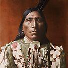 Little Hawk - Brulé - American Indian by DanKeller