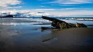 Ship Wreck on North Beach by Yukondick
