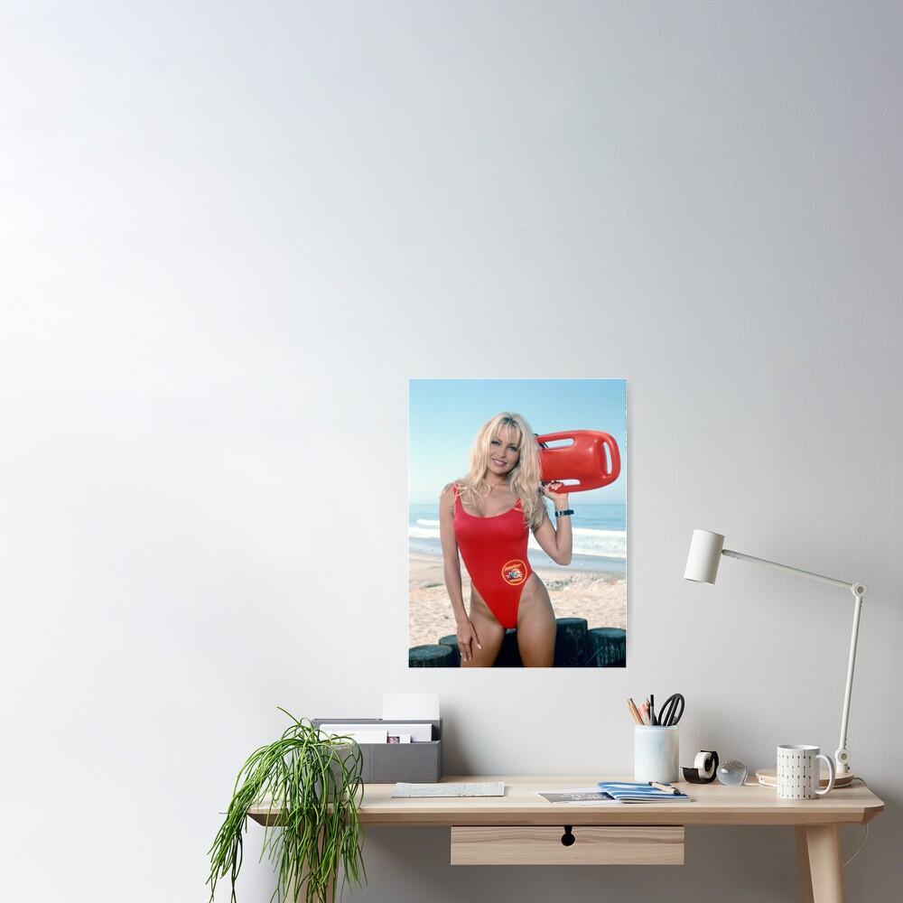 Pamela Anderson Baywatch Poster