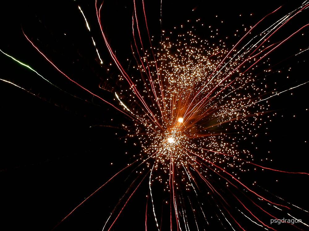 Fireworks Burst by psgdragon