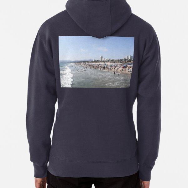 Santa Monica Beach Pullover Hoodie