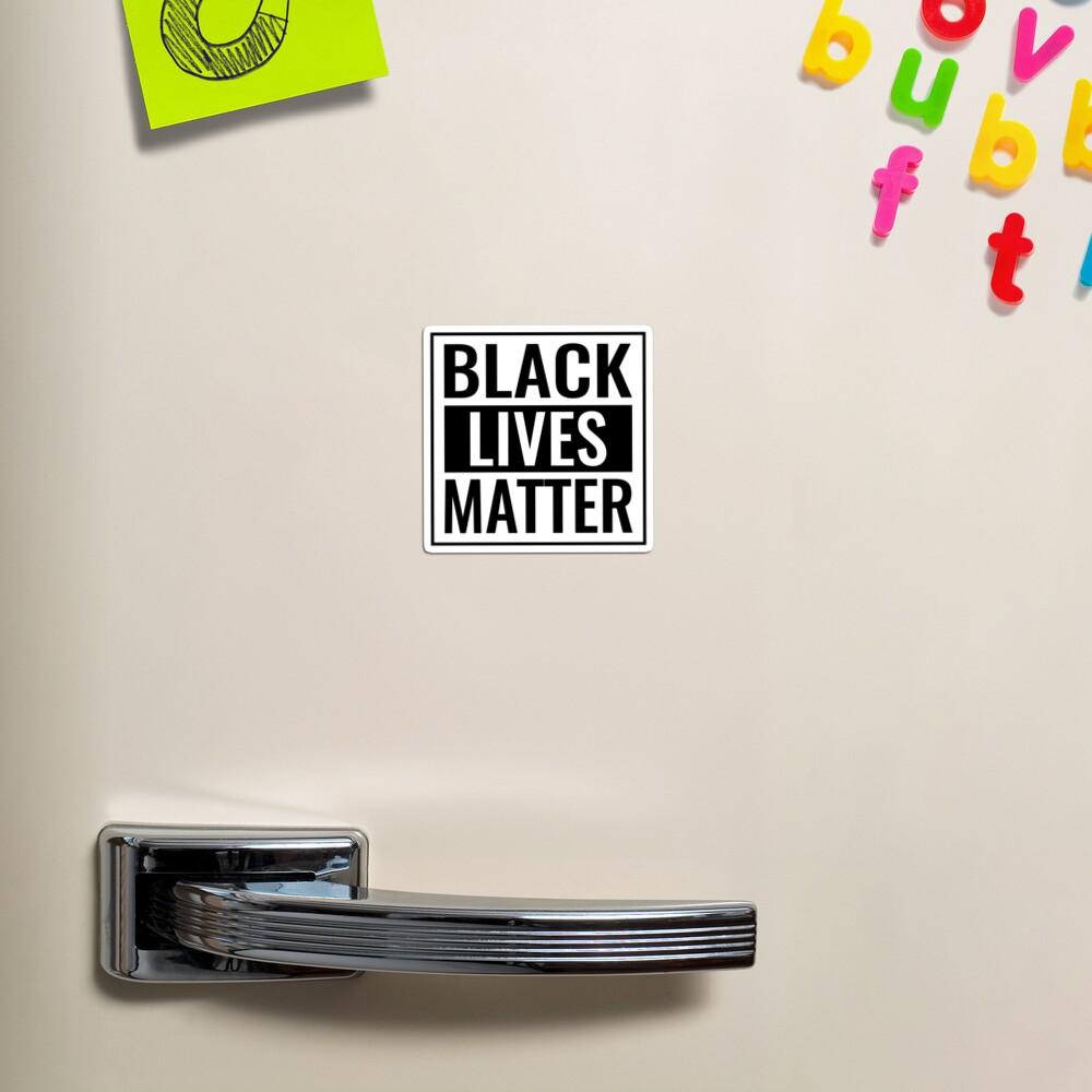 Black Lives Matter T Shirt Magnet