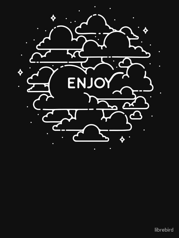 Clouds illustration - Enjoy! by librebird