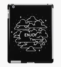 Clouds illustration - Enjoy! iPad Case/Skin