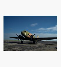 "Military C-47 ""Spooky"" Photographic Print"