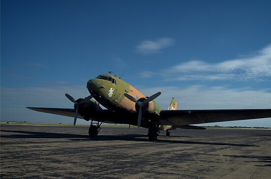"""Military C-47 """"Spooky"""" by TeeMack"""