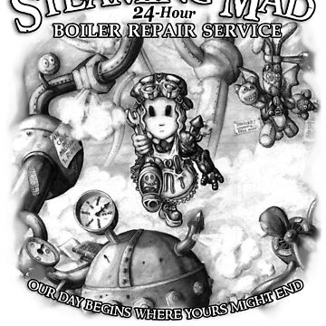 Steaming Mad Boiler Repair by InsectsAngels