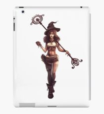 The Steampunk Witch iPad Case/Skin