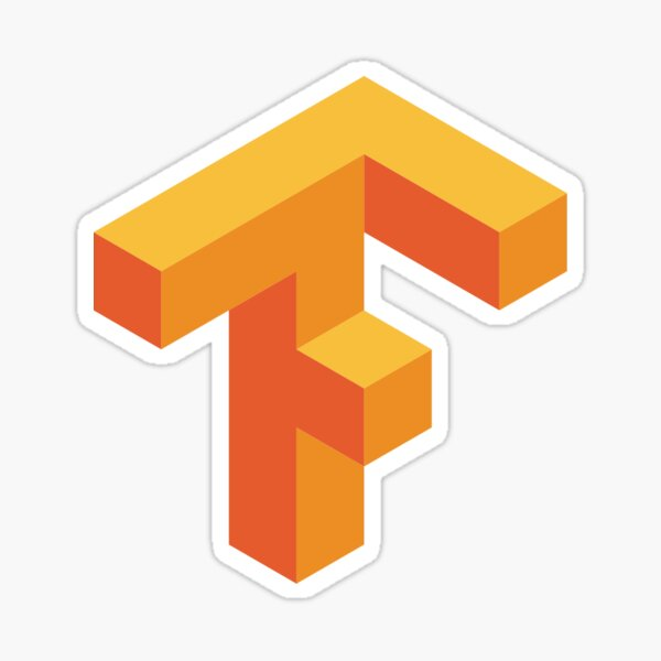 Tensorflow Logo Sticker