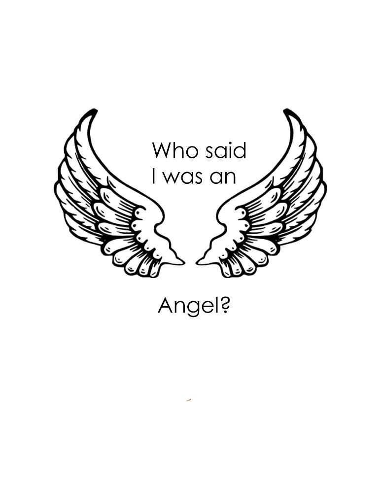 «Who said I was an angel?» de AAbi