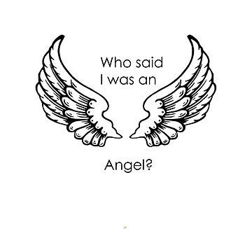 Who said I was an angel? de AAbi