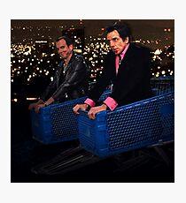Gob + Tony Photographic Print
