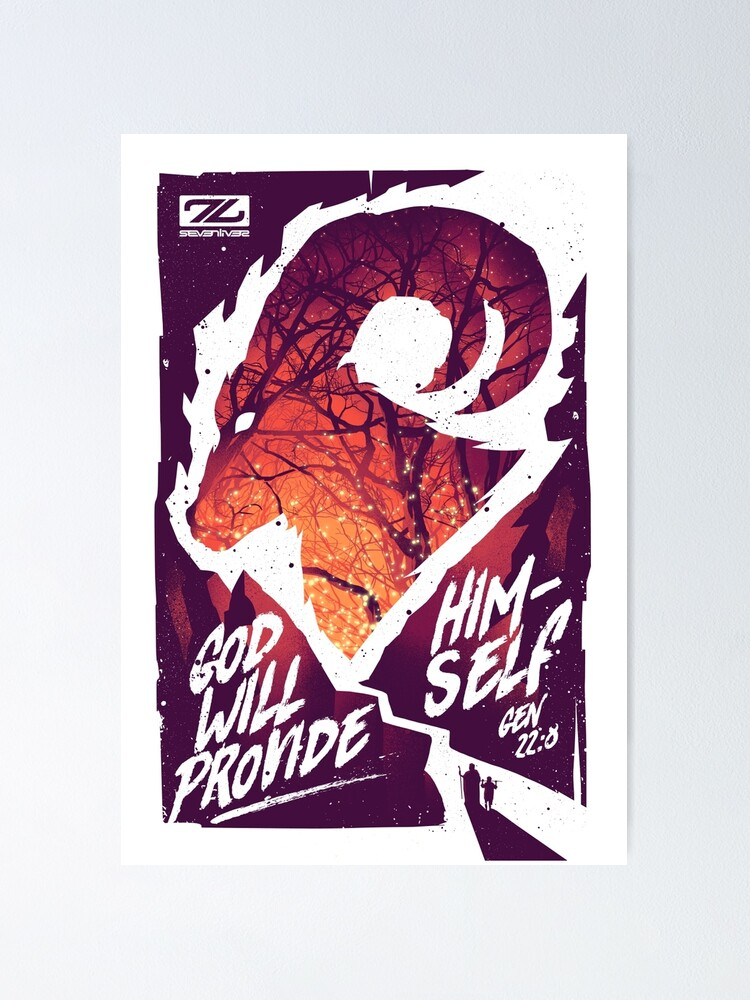 Alternate view of  GOD WILL PROVIDE HIMSELF Poster