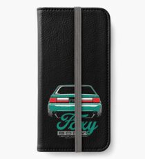 Foxy Körper Mustang iPhone Flip-Case/Hülle/Klebefolie