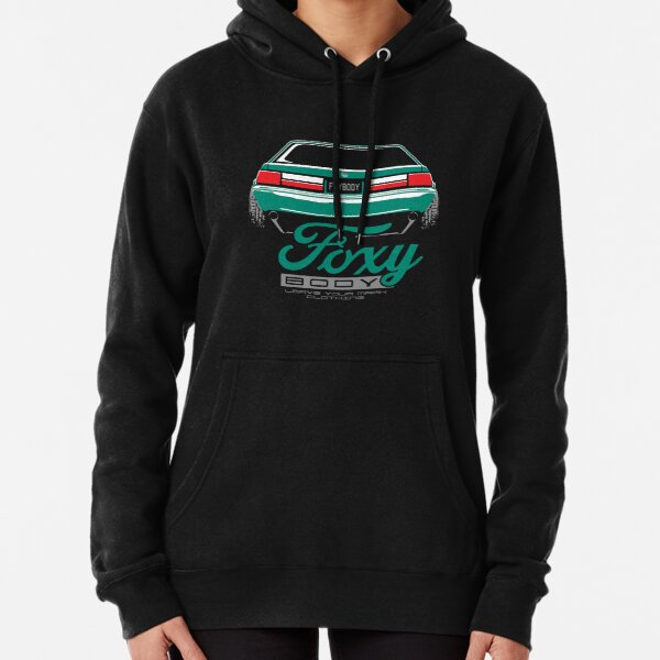 Foxy Body Mustang Pullover Hoodie