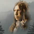 Peter Iron Shell, Sioux Indian by DanKeller