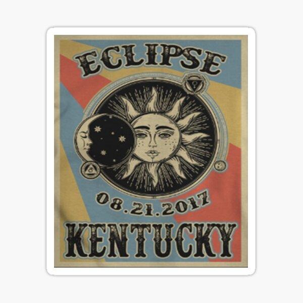 VINTAGE KENTUCKY SOLAR ECLIPSE 2017 SHIRT Sticker