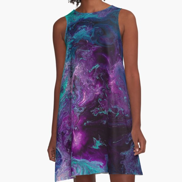 Nebulous A-Line Dress