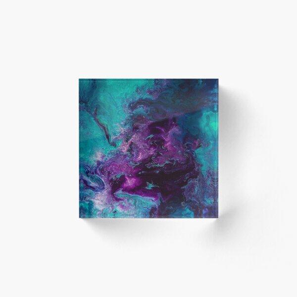 Nebulous Acrylic Block