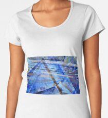 Intersections of Perspective and Perception Women's Premium T-Shirt