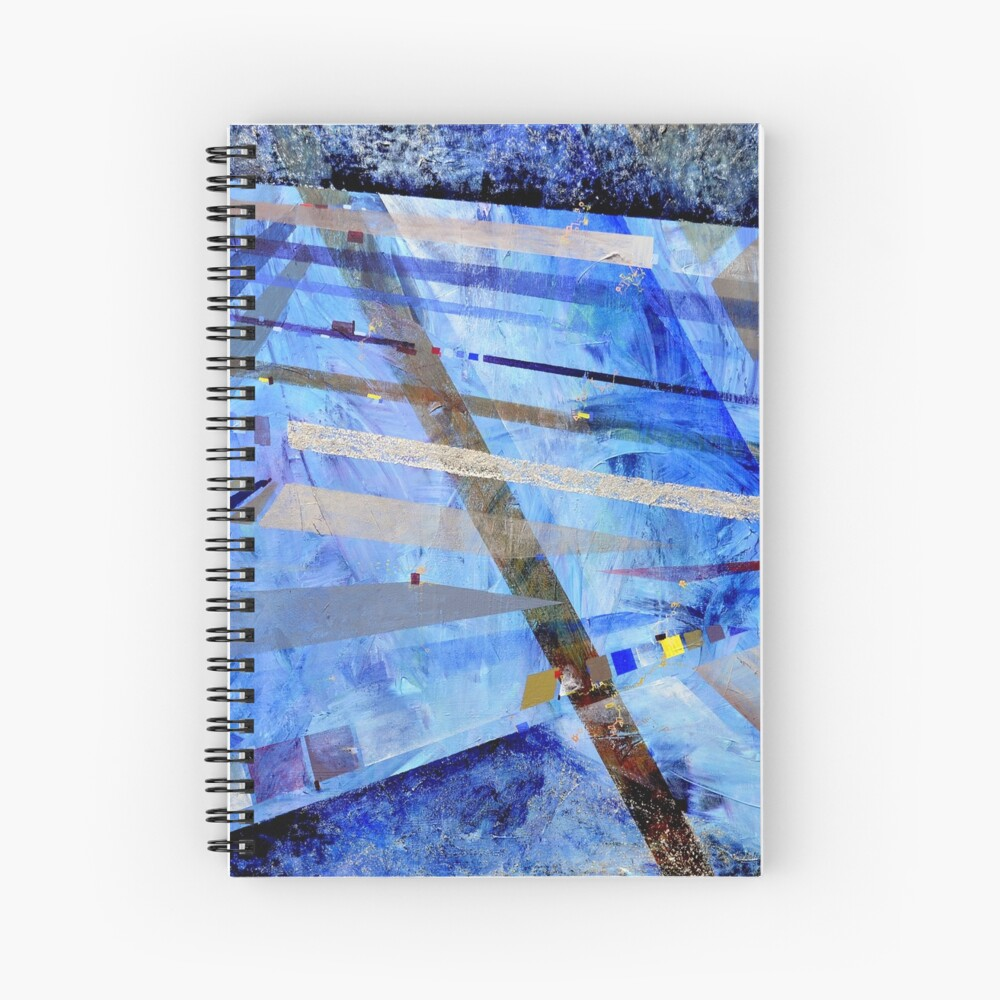 Intersections of Perspective and Perception Spiral Notebook
