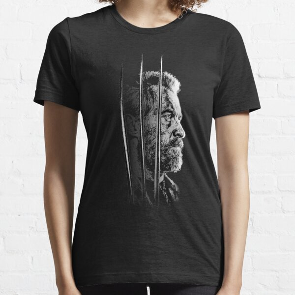 Logan Faded Bust Essential T-Shirt