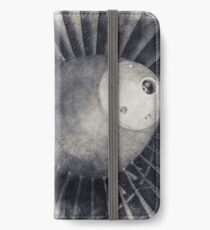 Jet Turbine, Jet Engine, Jet, Aviation, Airplane Engine, Pilot Gift, Aviator Gift iPhone Wallet