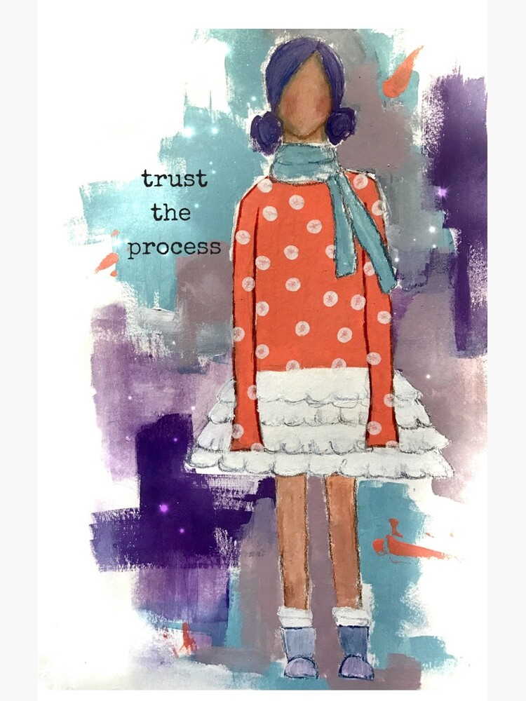 Trust The Process by Soulwhisperarts