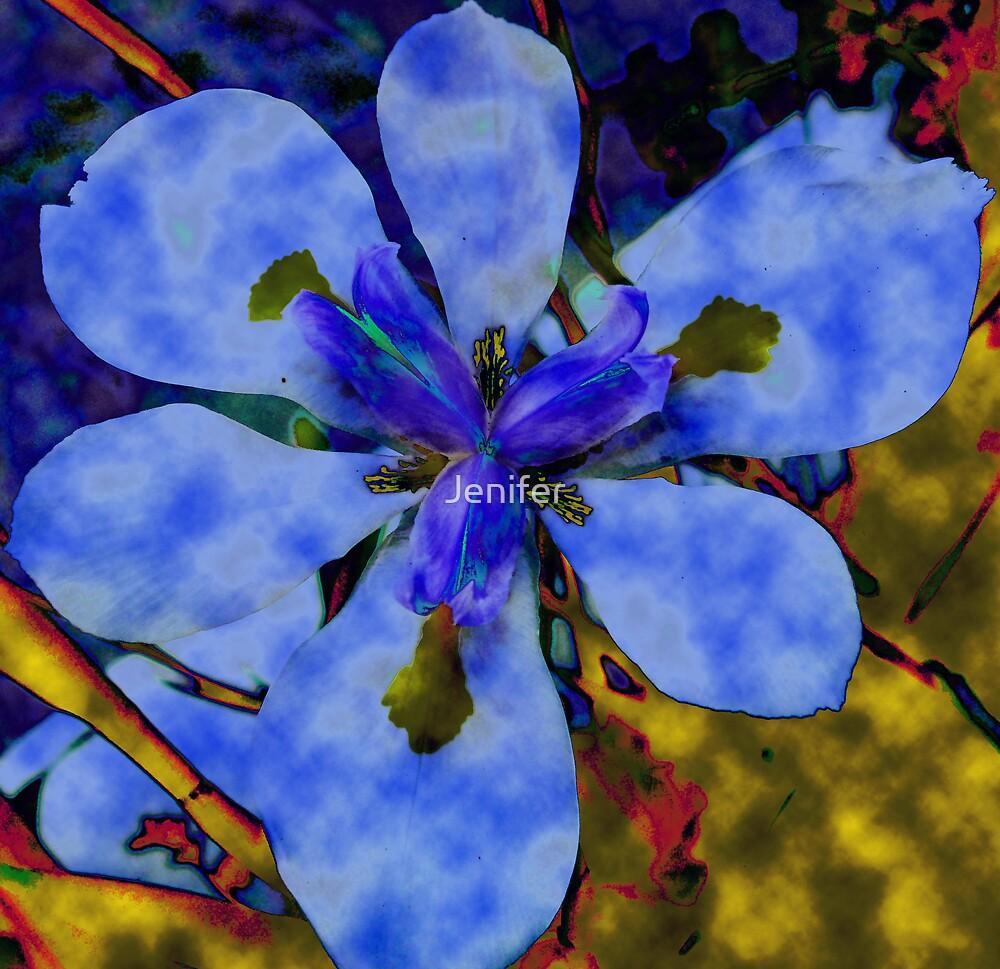 Blue by Jenifer