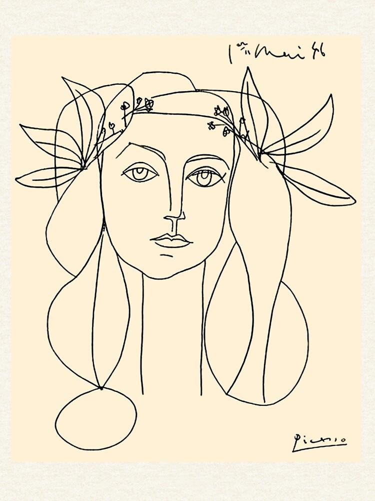 HEAD 1946: Vintage Abstract Print von posterbobs