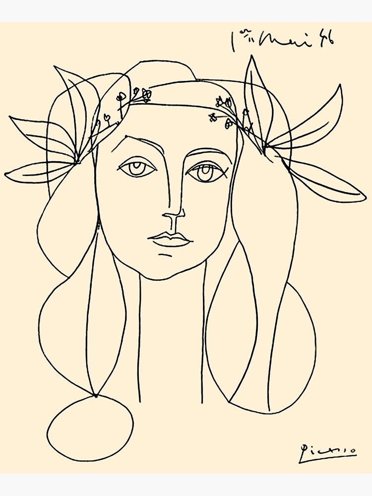 HEAD 1946 : Vintage Abstract Print by posterbobs