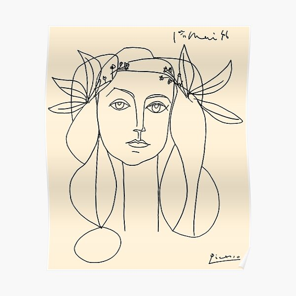 HEAD 1946 : Vintage Abstract Print Poster