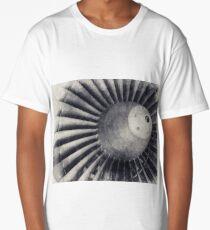 Jet Turbine, Jet Engine, Jet, Aviation, Airplane Engine, Pilot Gift, Aviator Gift Long T-Shirt