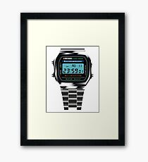 One Minute to Midnight Framed Print