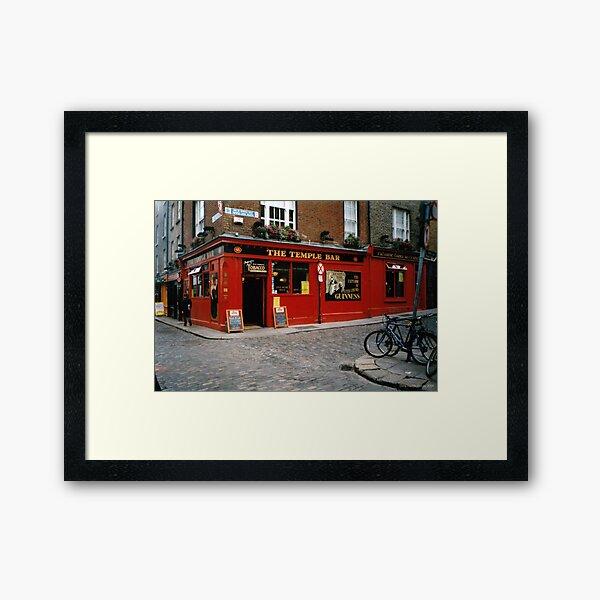 Temple Bar Framed Art Print