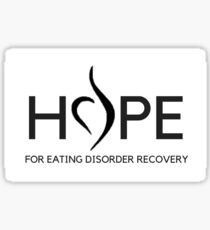 Hope for Eating Disorder Recovery Sticker
