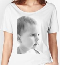 Baby Face Women's Relaxed Fit T-Shirt