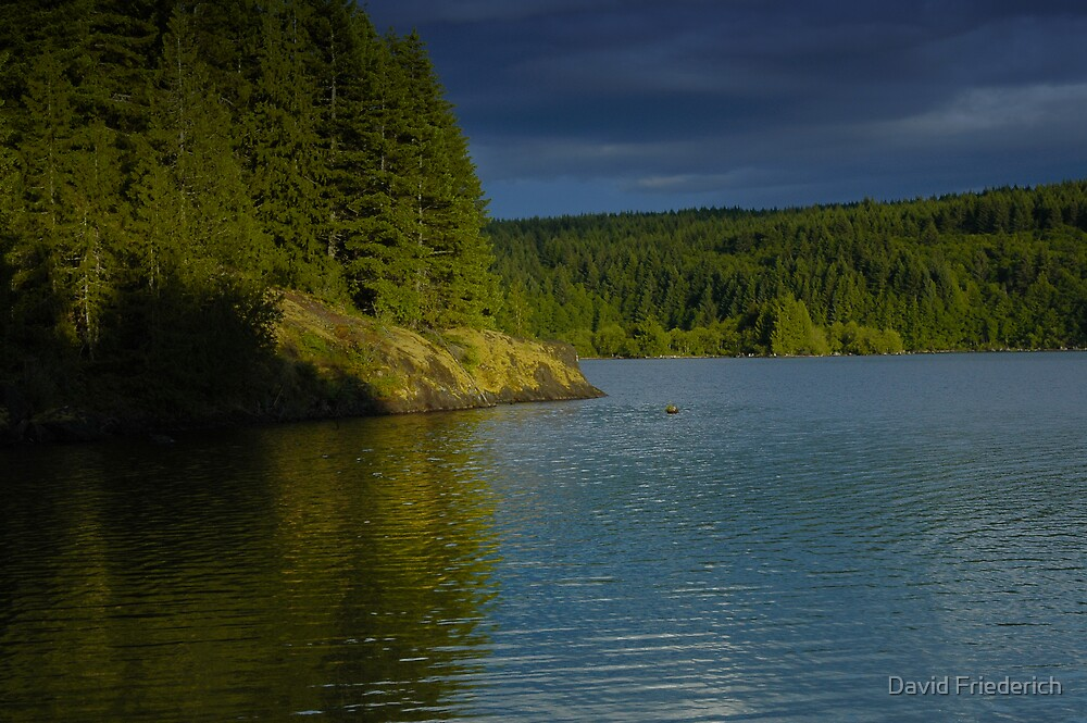 Canadian Lake by David Friederich