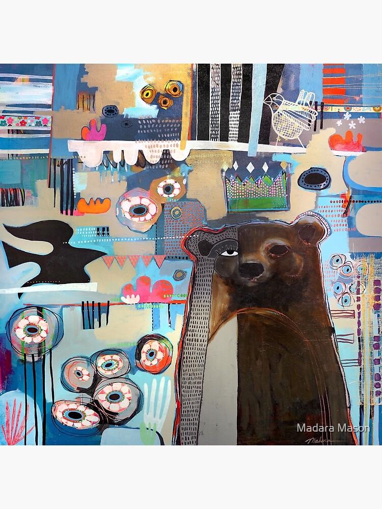 Bear in the Garden  by madaramason