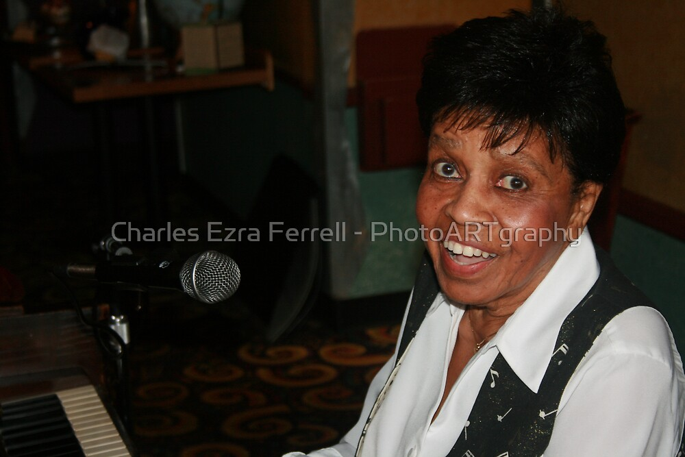 Piano Blues by Charles Ezra Ferrell - PhotoARTgraphy