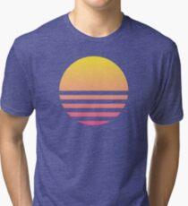 Sunset Symbol Tri-blend T-Shirt