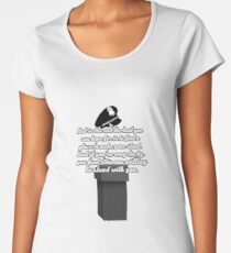 Kate Beckett stand with you Women's Premium T-Shirt
