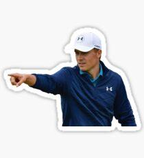 """Jordan Spieth """"point"""" Sticker"""