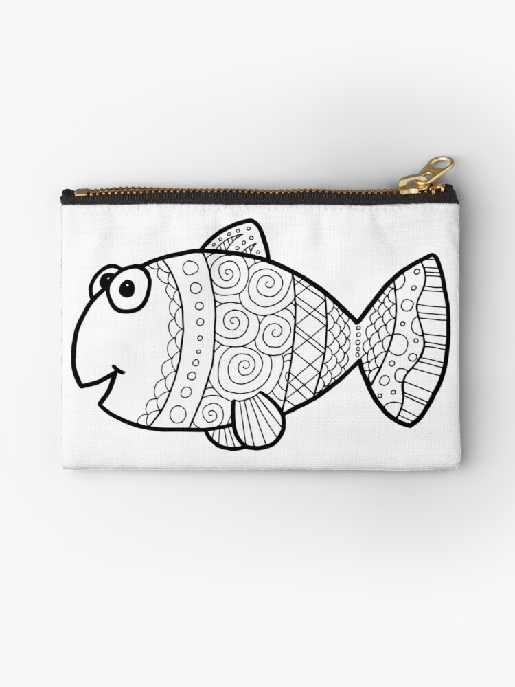 Scribble Fish by Janelle Wourms