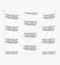Alex Karev - erster Kuss Wandbehang