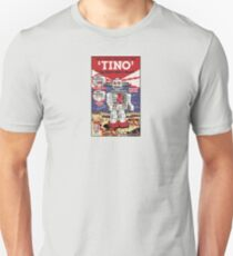 Tino the Heart Operated Toy Robot (Classic) Unisex T-Shirt