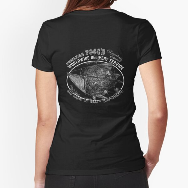 Phileas Fogg's Remarkably Expedient Delivery Service Fitted T-Shirt