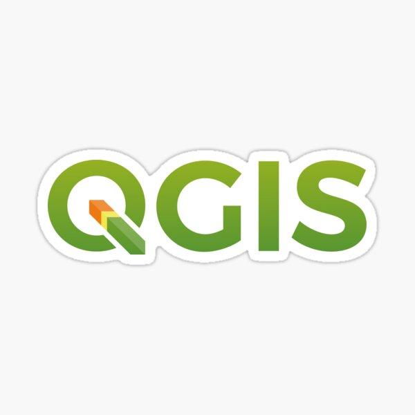 QGIS Sticker