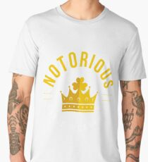 The Notorious Conor Mcgregor Dublin Ireland Men's Premium T-Shirt